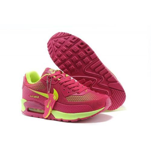 Nike Air Max 90 Gl Pink Green женские АирМаксы