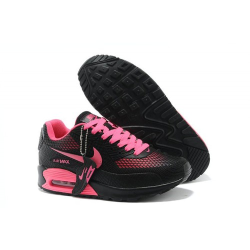 Nike Air Max 90 Gl Pink Black женские АирМаксы
