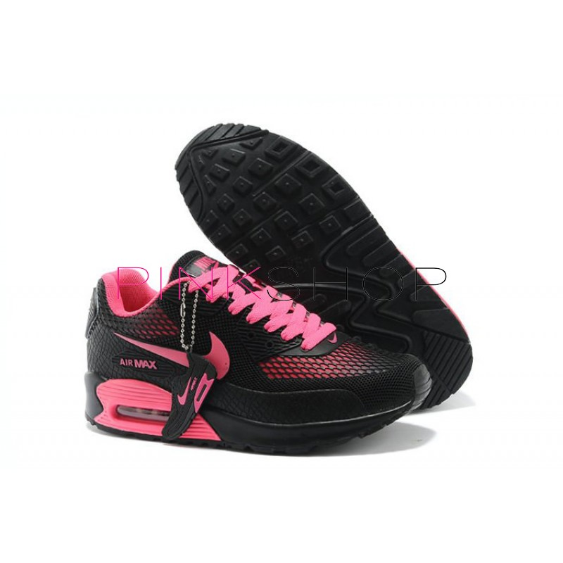 2d87c1f2 Nike Air Max 90 Gl Pink Black купить женские АирМаксы в Киеве, цены ...