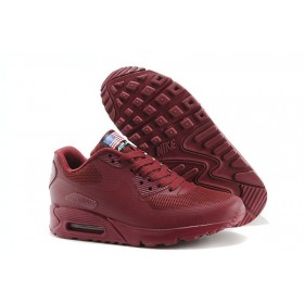 Nike Air Max 90 Hyperfuse Independence Day Red женские кроссовки