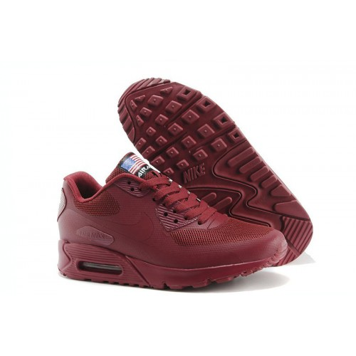Nike Air Max 90 Hyperfuse Independence Day Red женские АирМаксы