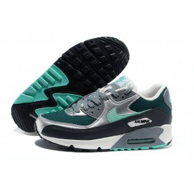 Nike Air Max 90 Green Black женские кроссовки