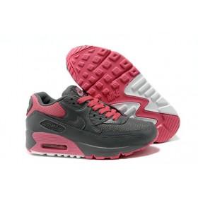 Nike Air Max 90 Grey Pink женские кроссовки