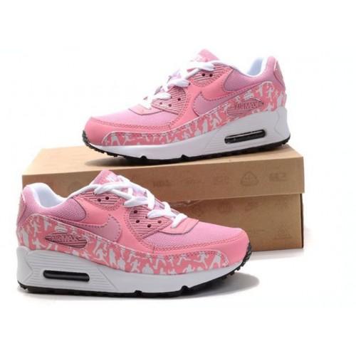c215bd832c99 Nike Air Max 90 White Navy Pink купить женские АирМаксы в Киеве ...
