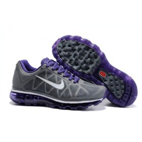 Nike Air Max 2011 Gray Purple женские кроссовки