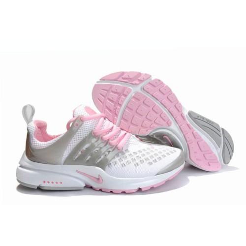 Nike Air Presto White Gray женские кроссовки для бега