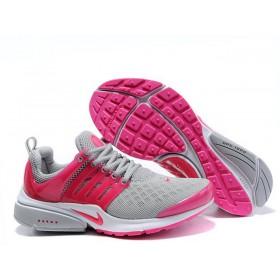 Nike Air Presto Grey Pink женские кроссовки для бега