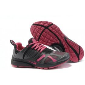 Nike Air Presto Black Pink женские кроссовки для бега
