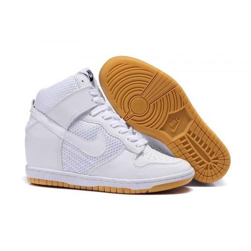 Nike Dunk Sky Hi White женские кроссовки