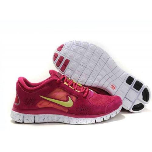 Nike Free Run Plus 3 Red женские кроссовки для бега