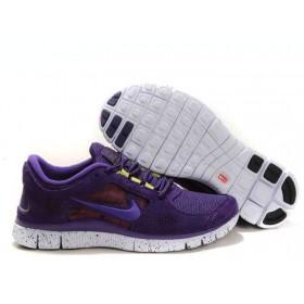Nike Free Run Plus 3 Blue женские кроссовки для бега