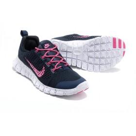 Nike Free Powerlines 2 Blue Pink женские кроссовки для бега
