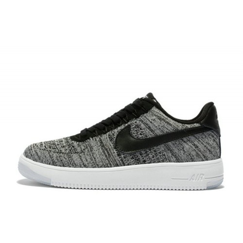 Кроссовки Nike Air Force 1 Low Flyknit Grey мужские