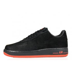 Nike Air Force 1 Low VT Black Orange мужские кроссовки