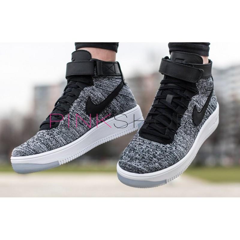 7e3632f5 Кроссовки Nike Air Force 1 Ultra Flyknit Grey купить мужские ...