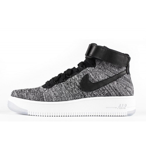 Nike Air Force 1 Ultra Flyknit Grey мужские кроссовки