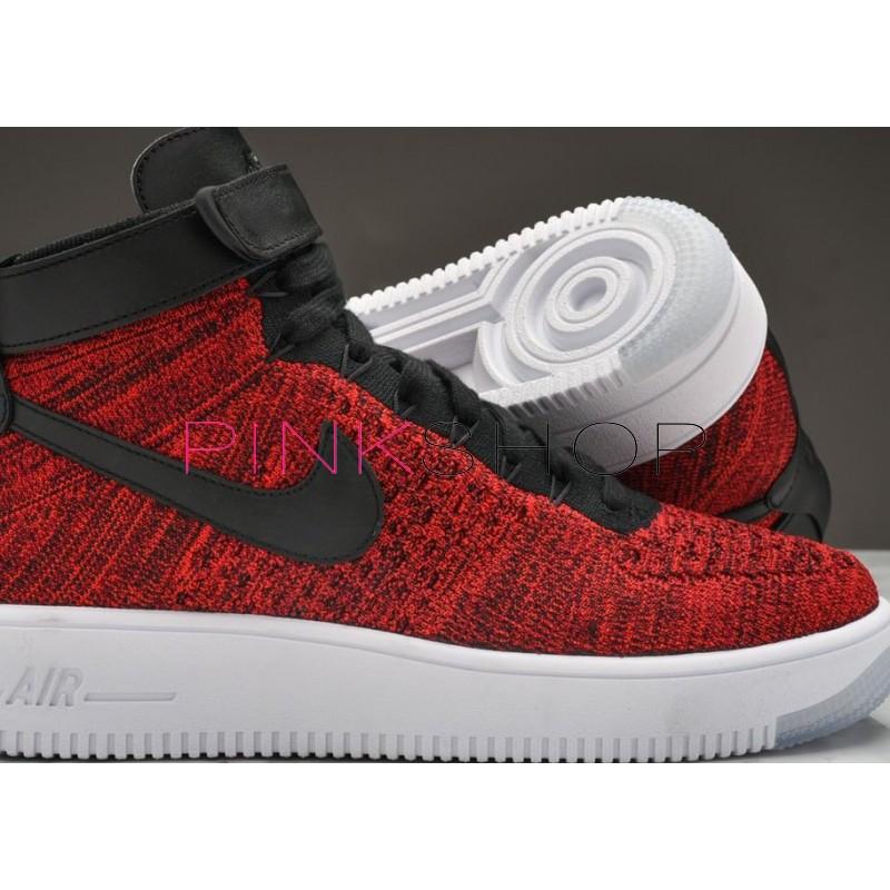 69939e94 Кроссовки Nike Air Force 1 Ultra Fliknit Red купить мужские ...