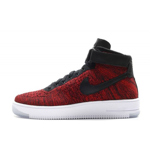 Nike Air Force 1 Ultra Fliknit Red мужские кроссовки