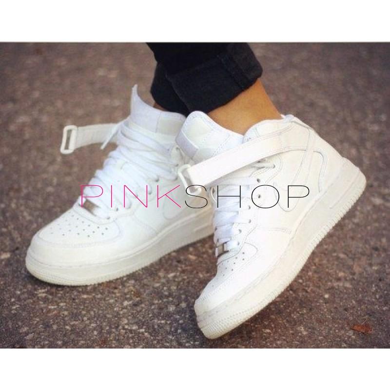 cea437ea Кроссовки Nike Air Force High White купить женские кроссовки в Киеве ...