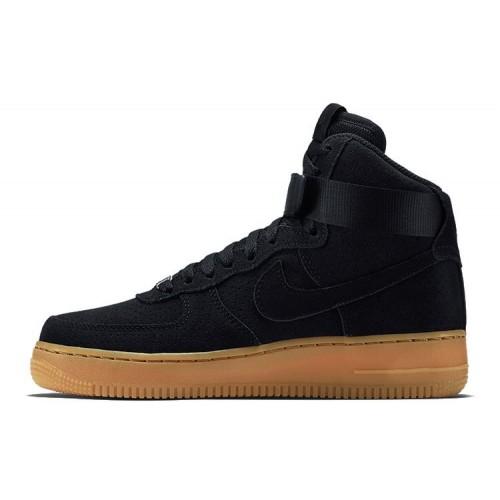 Кроссовки Nike Air Force High Coal Black мужские