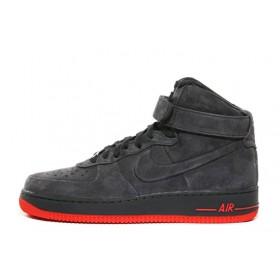 Nike Air Force High Suede Grey мужские кроссовки
