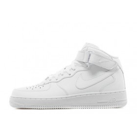 Nike Air Force High White мужские кроссовки