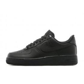 Nike Air Force Low Black мужские кроссовки