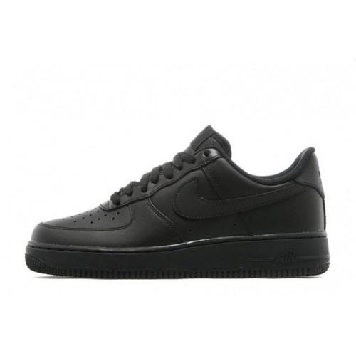 Кроссовки Nike Air Force Low Black мужские