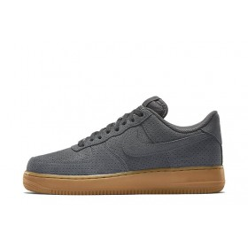 Nike Air Force Low Grey Suede мужские кроссовки