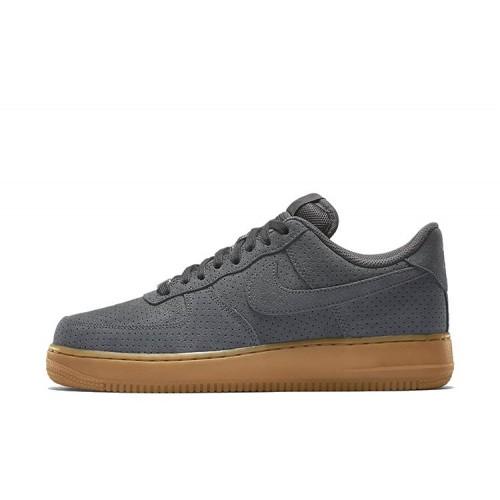 Кроссовки Nike Air Force Low Grey Suedey мужские