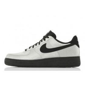 Nike Air Force Low Grey Black мужские кроссовки