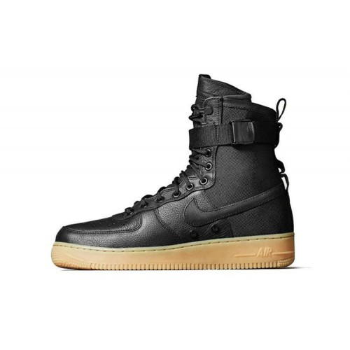 Кроссовки Nike Air Force SF1 Black мужские
