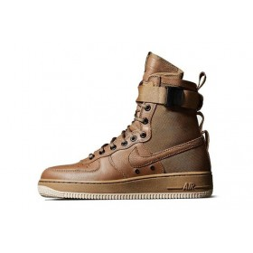 Nike Air Force SF1 Brown мужские кроссовки