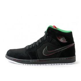 Nike Air Jordan Alpha I Black мужские кроссовки