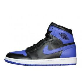 Nike Air Jordan Retro Black Blue мужские кроссовки