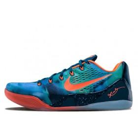 Nike Zoom Kobe 9 Green Orange мужские кроссовки