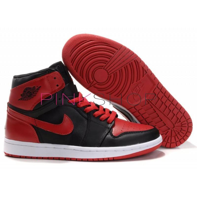 a2eda96d Кроссовки Nike Air Jordan Retro Black Red купить мужские кроссовки в ...