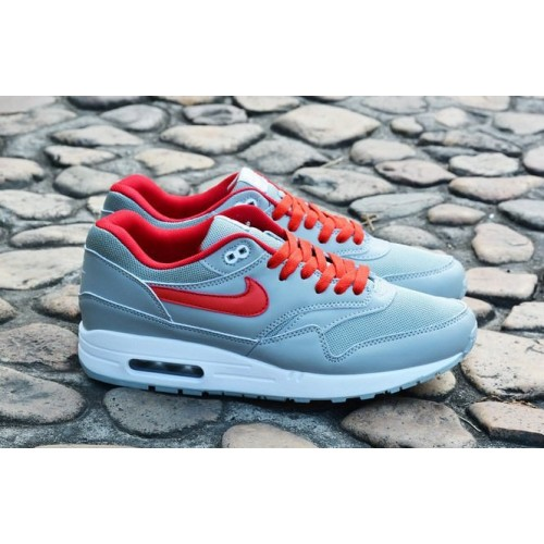 Nike Air Max 1 Ultra Grey Red мужские кроссовки