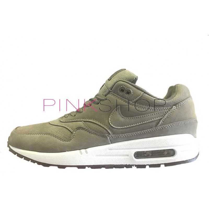 Nike Air Max 1 Essential Antifur Grey мужские АирМаксы