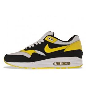 Nike Air Max 87 Black Yellow мужские кроссовки