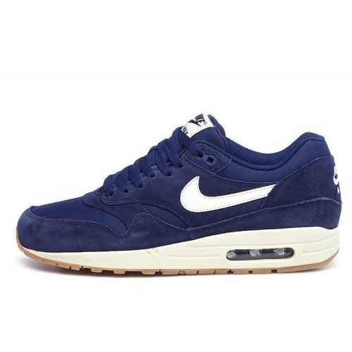 Nike Air Max 1 Essential Midnight Navy/Gum мужские кроссовки