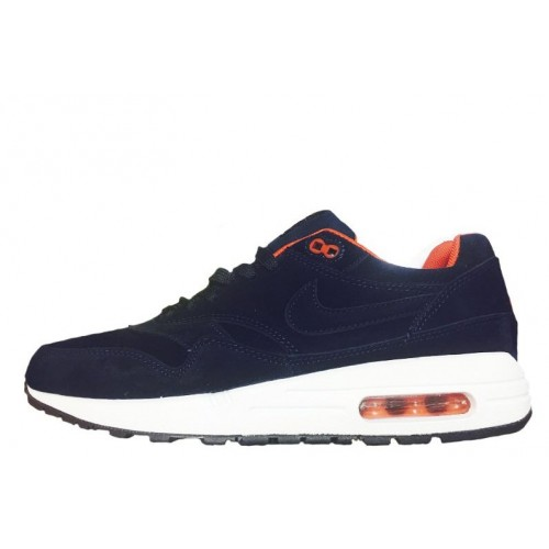 Nike Air Max 1 Essential Antifur Blue мужские АирМаксы