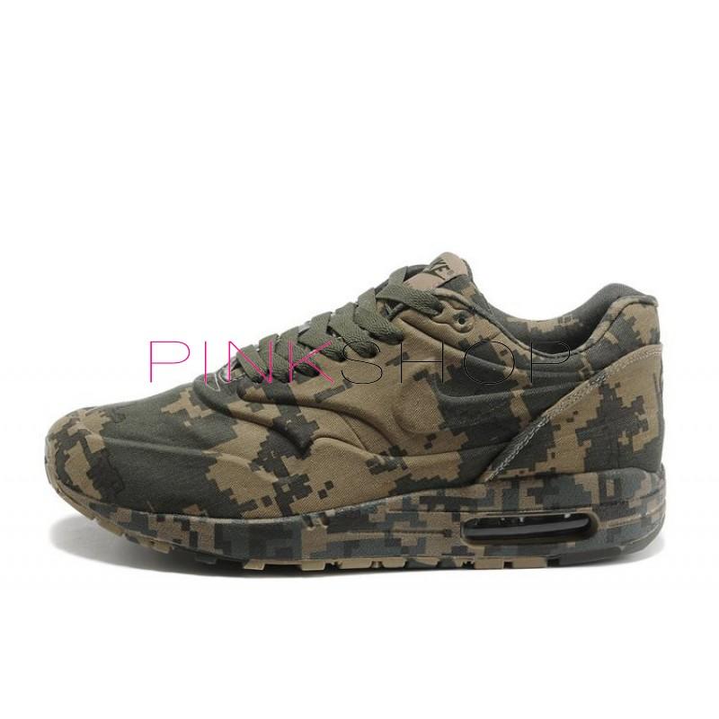 Nike Air Max 87 VT Camouflage Dark купить мужские АирМаксы в