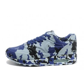 Nike Air Max 87 VT Camouflage Blue мужские кроссовки
