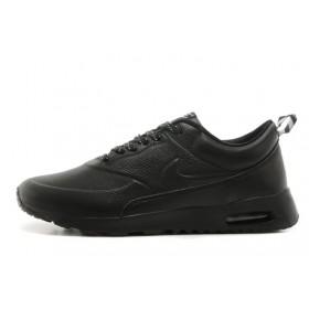 Nike Air Max Thea Leather Black мужские кроссовки