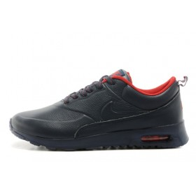 Nike Air Max Thea Leather Dark Blue мужские кроссовки