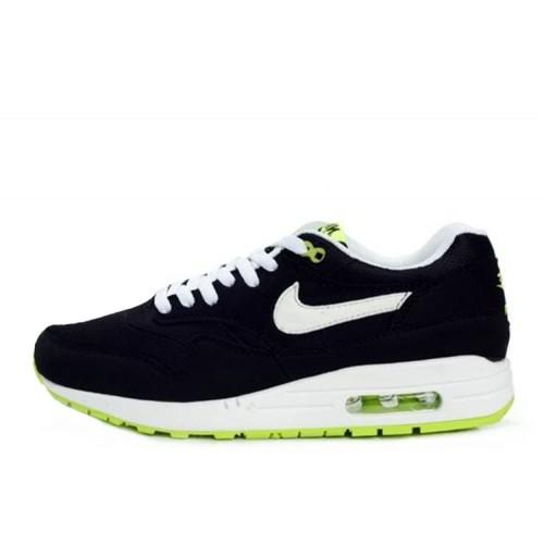 Nike Air Max 87 Black Lime мужские АирМаксы
