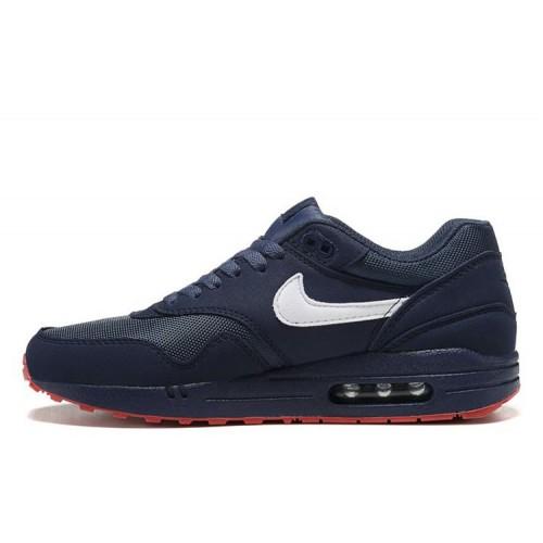 Nike Air Max 87 Black Blue Red мужские АирМаксы