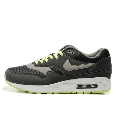 Nike Air Max 87 Grey Lime мужские АирМаксы