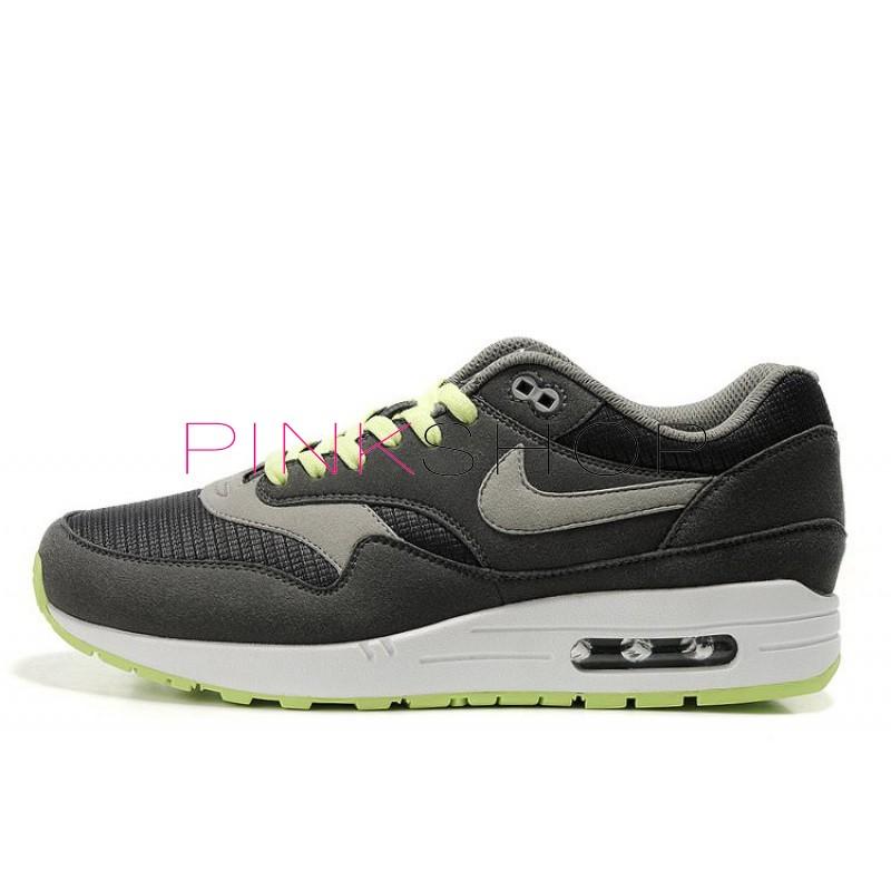 67327441 Nike Air Max 87 Grey Lime купить мужские АирМаксы в Киеве, цены в ...